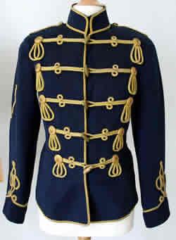 Uniformjacke eines Husaren im 1. Weltkrieg
